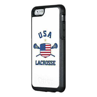 Coque OtterBox iPhone 6/6s Cas de téléphone de lacrosse des Etats-Unis