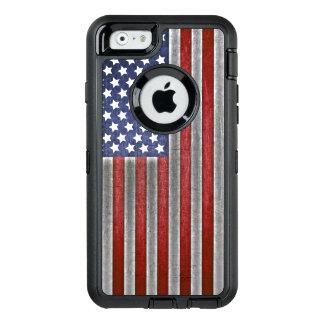 Coque OtterBox iPhone 6/6s cas de téléphone portable de drapeau américain