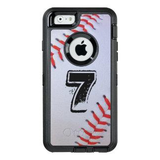 Coque OtterBox iPhone 6/6s Cas d'Otterbox de base-ball