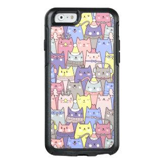 Coque OtterBox iPhone 6/6s Cas drôle de l'iPhone 6/6s de chats de Noël frais