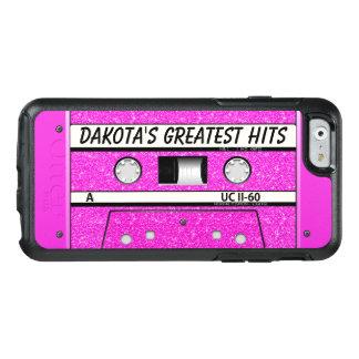 Coque OtterBox iPhone 6/6s Cas rose de l'iPhone 6/6s d'Otterbox de cassette