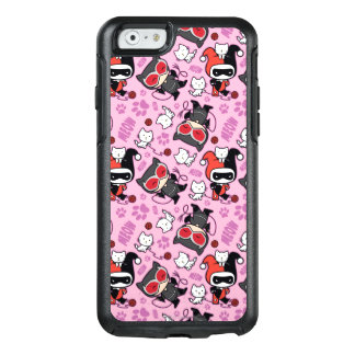 Coque OtterBox iPhone 6/6s Catwoman de Chibi, Harley Quinn, et motif de