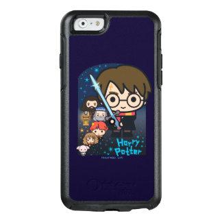 Coque OtterBox iPhone 6/6s Chambre de Harry Potter de bande dessinée des