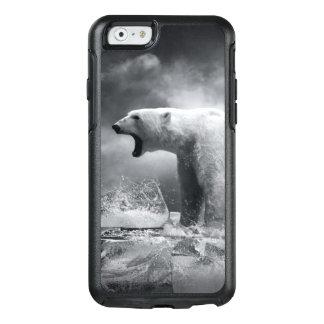 Coque OtterBox iPhone 6/6s Chasseur blanc d'ours blanc sur la glace dans