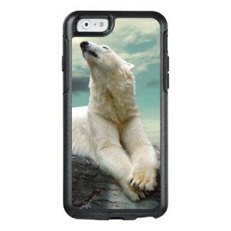 Coque OtterBox iPhone 6/6s Chasseur blanc d'ours blanc sur la roche