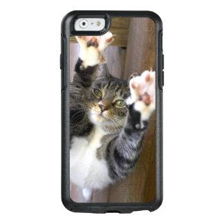 Coque OtterBox iPhone 6/6s Chat s'étirant, à l'intérieur