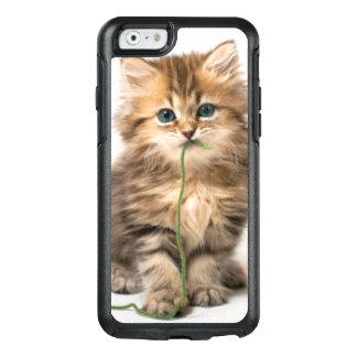 Coque OtterBox iPhone 6/6s Chaton avec le fil vert
