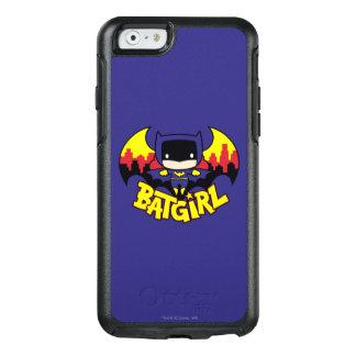 Coque OtterBox iPhone 6/6s Chibi Batgirl avec l'horizon et le logo de Gotham