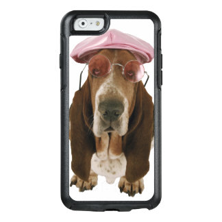 Coque OtterBox iPhone 6/6s Chien de basset dans les lunettes de soleil et le
