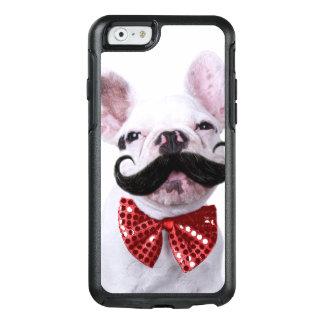 Coque OtterBox iPhone 6/6s Chiot de chien de Taureau de Français avec la