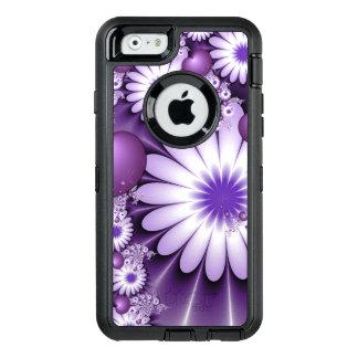 Coque OtterBox iPhone 6/6s Chute dans la fractale de fleurs et de coeurs