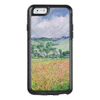 Coque OtterBox iPhone 6/6s Claude Monet | le champ de pavot près de Giverny,