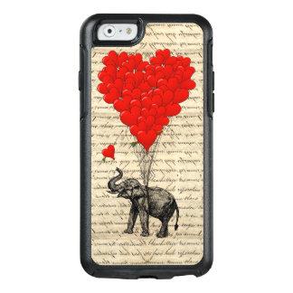 Coque OtterBox iPhone 6/6s Coeur romantique d'éléphant