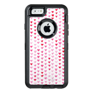 Coque OtterBox iPhone 6/6s Coeurs d'aquarelle