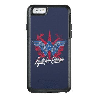 Coque OtterBox iPhone 6/6s Combat de femme de merveille pour le symbole de