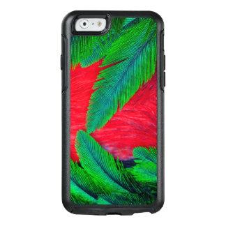 Coque OtterBox iPhone 6/6s Conception resplendissante de plume de quetzal
