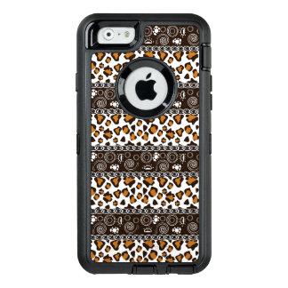 Coque OtterBox iPhone 6/6s Copie africaine avec le motif de peau de guépard