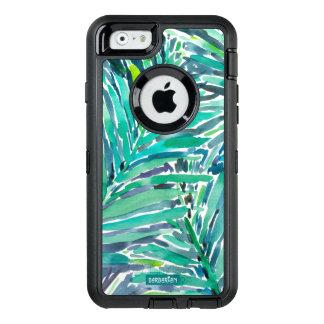 Coque OtterBox iPhone 6/6s Copie tropicale d'aquarelle de jungle de paume