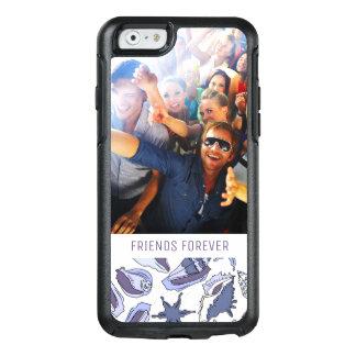 Coque OtterBox iPhone 6/6s Coquillages de Lavendar | votre photo et texte