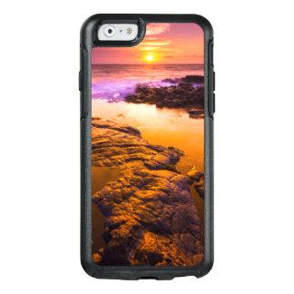 Coque OtterBox iPhone 6/6s Coucher du soleil au-dessus des piscines de marée,