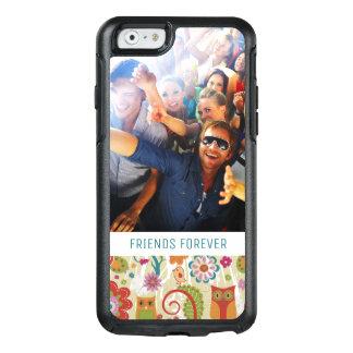 Coque OtterBox iPhone 6/6s Couleur faite sur commande de photo et de textes