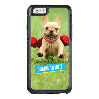 Coque OtterBox iPhone 6/6s Courses mignonnes de super héros de bouledogue