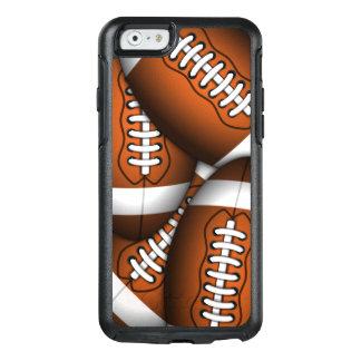 Coque OtterBox iPhone 6/6s Coutume virile de football américain de motif des