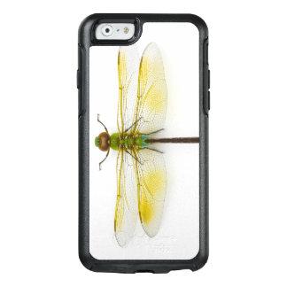 Coque OtterBox iPhone 6/6s Darner vert (junius d'Anax) sur l'arrière - plan
