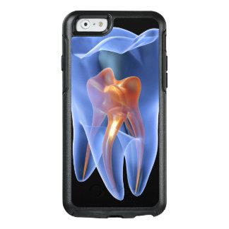 Coque OtterBox iPhone 6/6s Dent, section transversale transparente d'une