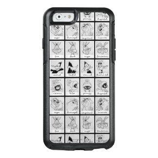 Coque OtterBox iPhone 6/6s Diagramme LOONEY d'émotion de caractère de TUNES™