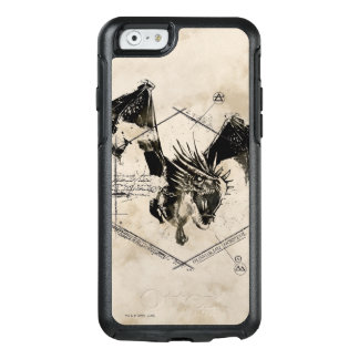 Coque OtterBox iPhone 6/6s Dragon 2 de Horntail de Hongrois