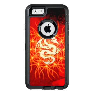 Coque OtterBox iPhone 6/6s Dragon d'or merveilleux