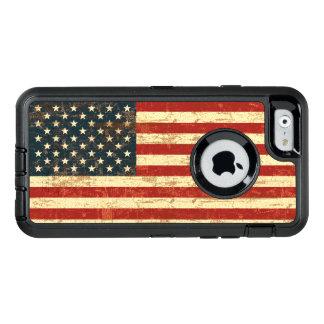 Coque OtterBox iPhone 6/6s Drapeau américain sale Etats-Unis