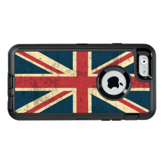 Coque OtterBox iPhone 6/6s Drapeau britannique vintage d'Union Jack