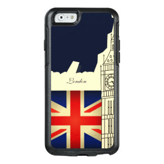 Coque OtterBox iPhone 6/6s Drapeau de Big Ben Union Jack de ville de Londres