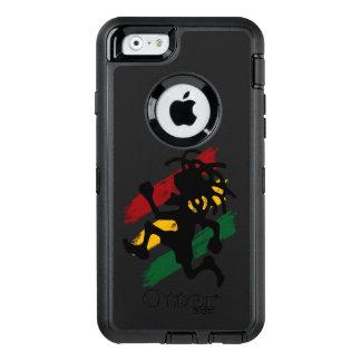 Coque OtterBox iPhone 6/6s drapeau de paix de reggae de rasta