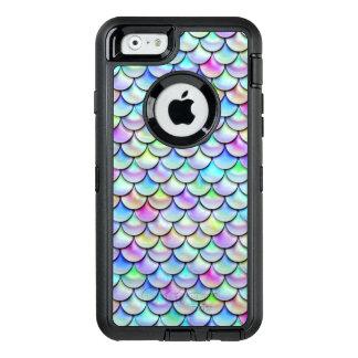Coque OtterBox iPhone 6/6s Échelles de sirène de bulle d'arc-en-ciel de Falln
