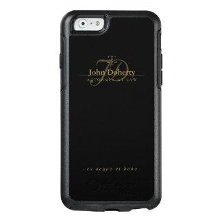 Coque OtterBox iPhone 6/6s Échelles d'or élégantes de l'avocat   de justice