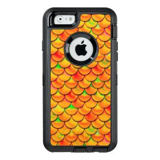 Coque OtterBox iPhone 6/6s Échelles oranges et vertes de Falln