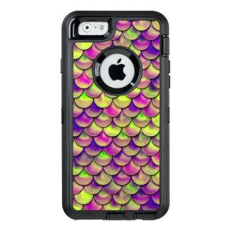 Coque OtterBox iPhone 6/6s Échelles pourpres et vertes de Falln