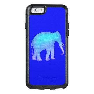 Coque OtterBox iPhone 6/6s Éléphant bleu de mosaïque