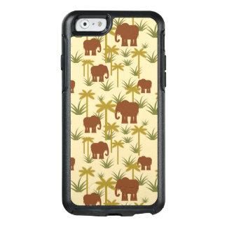 Coque OtterBox iPhone 6/6s Éléphants et paumes dans le camouflage