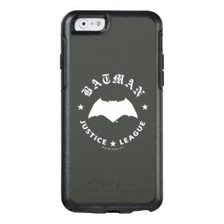Coque OtterBox iPhone 6/6s Emblème de batte de la ligue de justice rétro |
