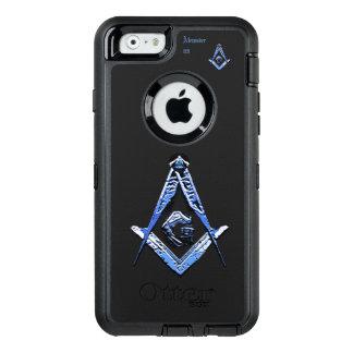 Coque OtterBox iPhone 6/6s Esprits maçonniques (bleus)