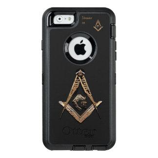 Coque OtterBox iPhone 6/6s Esprits maçonniques (d'or)