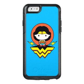 Coque OtterBox iPhone 6/6s Femme de merveille de Chibi avec le pois et le