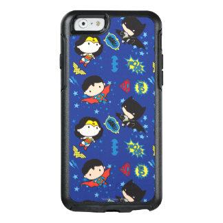 Coque OtterBox iPhone 6/6s Femme de merveille de Chibi, Superman, et motif de