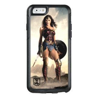 Coque OtterBox iPhone 6/6s Femme de merveille de la ligue de justice | sur le