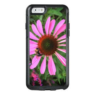 Coque OtterBox iPhone 6/6s Fleur pourpre avec l'abeille