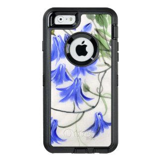 Coque OtterBox iPhone 6/6s Fleurs bleues